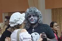 Strašidelný ples v Lázních Bělohradě.