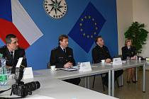 Z tiskové konference jičínské policie.