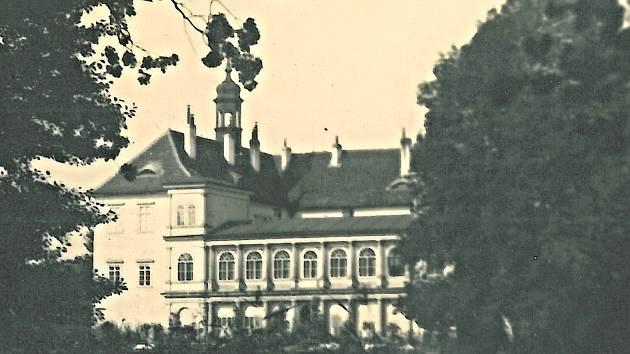Historický snímek Kopidlna.