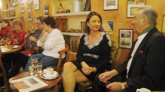 Jolana Voldánová v Libáni.