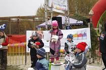 Mladí musheři z Čisté u Horek na závodech pod Zebínem.