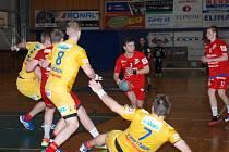 BOMUMÍR SKOPAL (s míčem) vstřelil ve finálových zápasech celkem čtyři góly.
