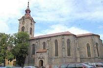 Jičínský kostel sv. Ignáce.
