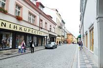 Název Panská ulice se vžil více než Palackého.