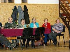 Předvánoční setkání s důchodci v Libuni.