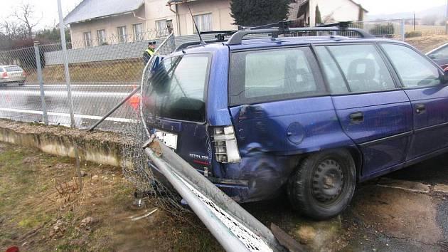 Nehoda v Ohavči.