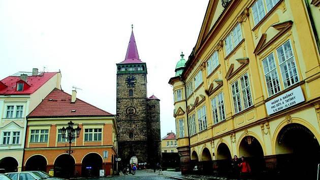Jičínské centrum - Valdštejnovo náměstí.