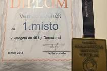 Zdeněk Venclů vítězem Českého poháru.