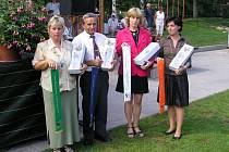 Předávání cen krajského kola Vesnice roku. Ilustrační fotografie