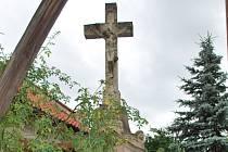 Křížek ve Zdobíně.