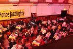 Sobotní večer zakončil 25. ročník JazzNights Hořice. Na snímcích Ballard, Hrubý a Kučera a Inbar Fridman Trio.
