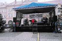 Během adventu vystoupila také jičínská skupina After Past.