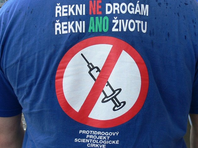 Logo Cykloběhu za Českou republiku bez drog.