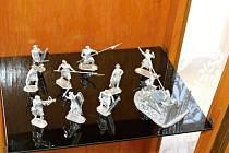 Bělohradská výstava cínových vojáčků.