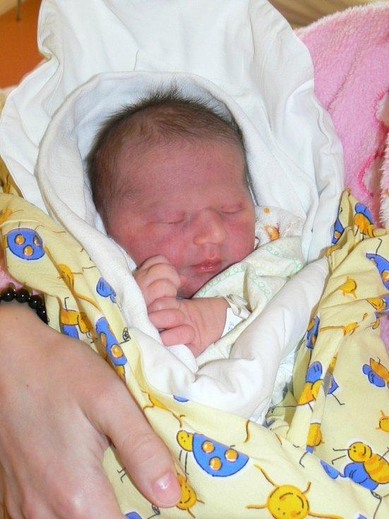 SIMONKA BRENDLOVÁ  dělá radost svým rodičům  Nikole Plášilové a Josefu Brendlovi od 15. prosince, kdy přišla na svět s váhou 3,27 kg a mírou 49 cm. Bydlí spolu ve Zboží u Nové Paky.
