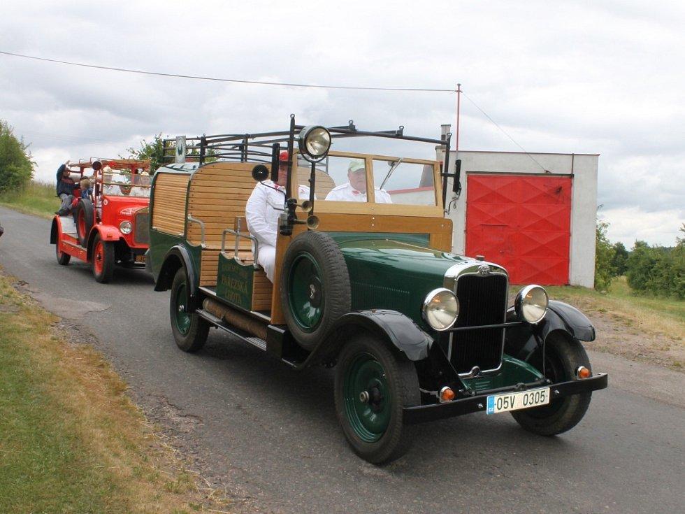 Oslavy 110 let hasičů ve Zboží.