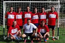 TITUL z tradičního fotbalového turnaje v Lukavci si odneslo mužstvo ZD Dobrá Voda.