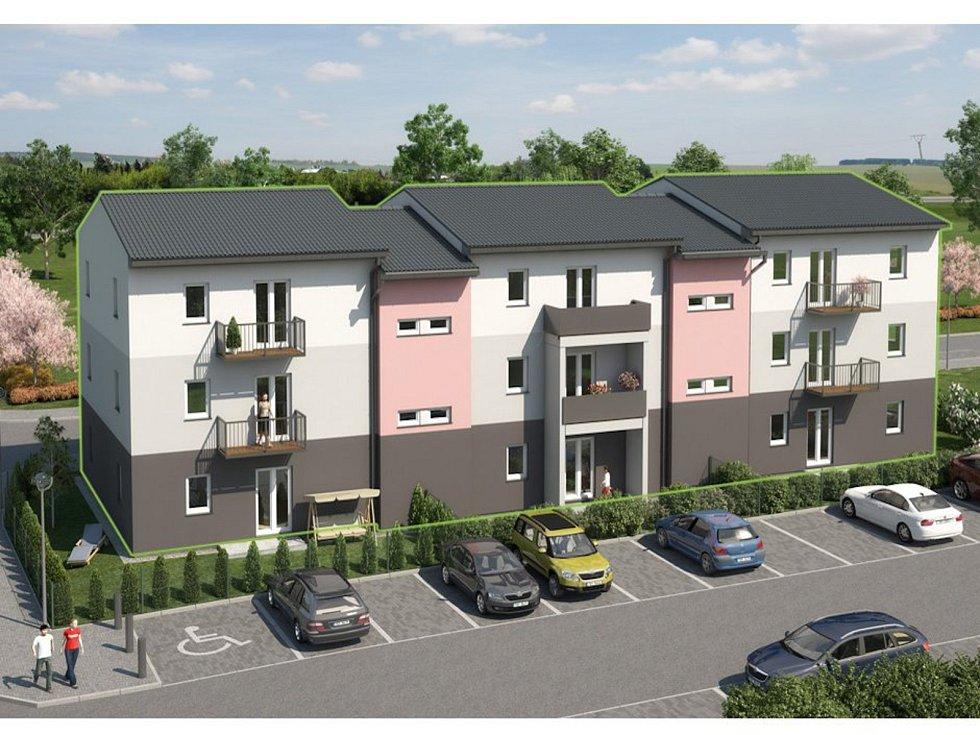 Šestnáct nových bytů nabídne blížící se výstavba v Hořicích. Foto: web města