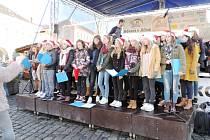 Holandští studenti z Maastrichtu na koncertě v Jičíně.
