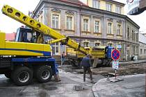 Oprava Tylovy ulice.