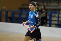 Zuzana Svobodová - florbalistka ze stánku s palačinkami.
