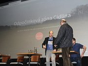 Veřejná diskuze o podobě odpočinkové zóny Cidlina v jičínském Biografu Český ráj.