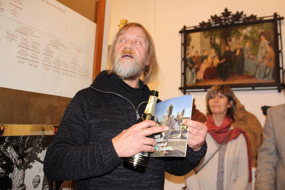 Křest knihy v Suchardově domě