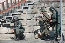 Připomínka konce 2. světové války v Libuni.