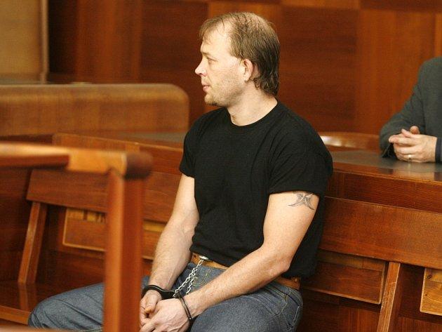 Odsouzený Michal Matoušek.