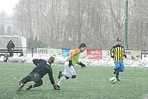 Fotbalové utkání SK Jičín – SK Luštěnice.