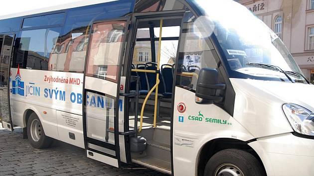 Ekologický bezbariérový autobus.