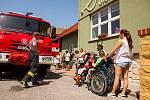 Cvičný zásah v Apropu prověřil jičínské hasiče.