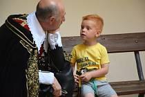 Na zámku úřaduje vždy v pondělí vévoda Albrecht