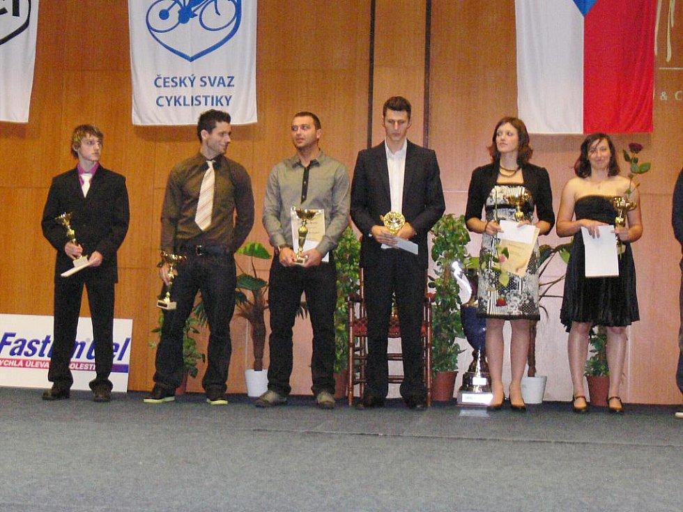 Z oceňování cyklistů v rámci akce Král cyklistiky 2010.