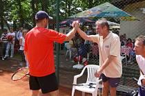 Z tenisového turnaje Puro Klima Open 2009.