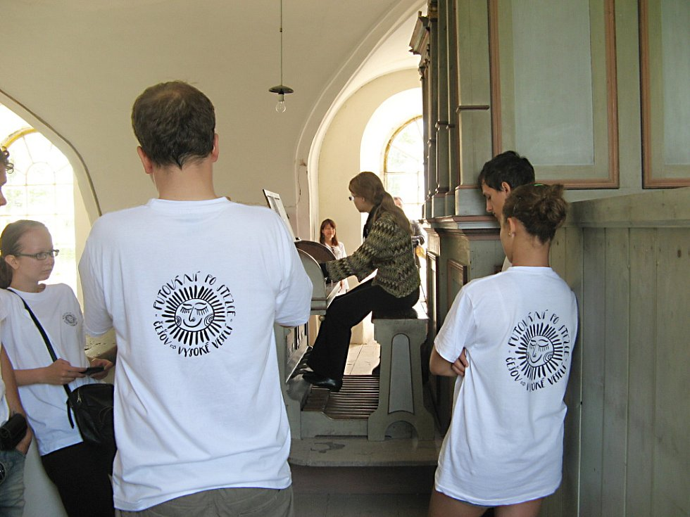 Z kostela na Hradišťku.
