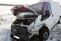 Dopravní nehoda u Úlibic.
