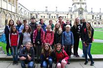 Chomutičtí šioláci navštívili Londýn.