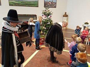 Děti navštívily vévodu Albrechta