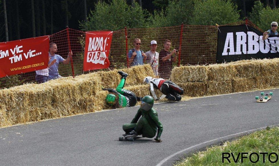 Závod Kozákov Challenge.