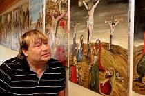 Petr Urban, autor křížové cesty.