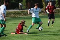 Fotbal Jičíněves - Železnice  2:2.