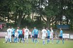 Fotbalové utkání Sobotka - Chlumec nad Cidlinou.