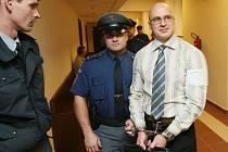 Martin Albrecht u soudu.