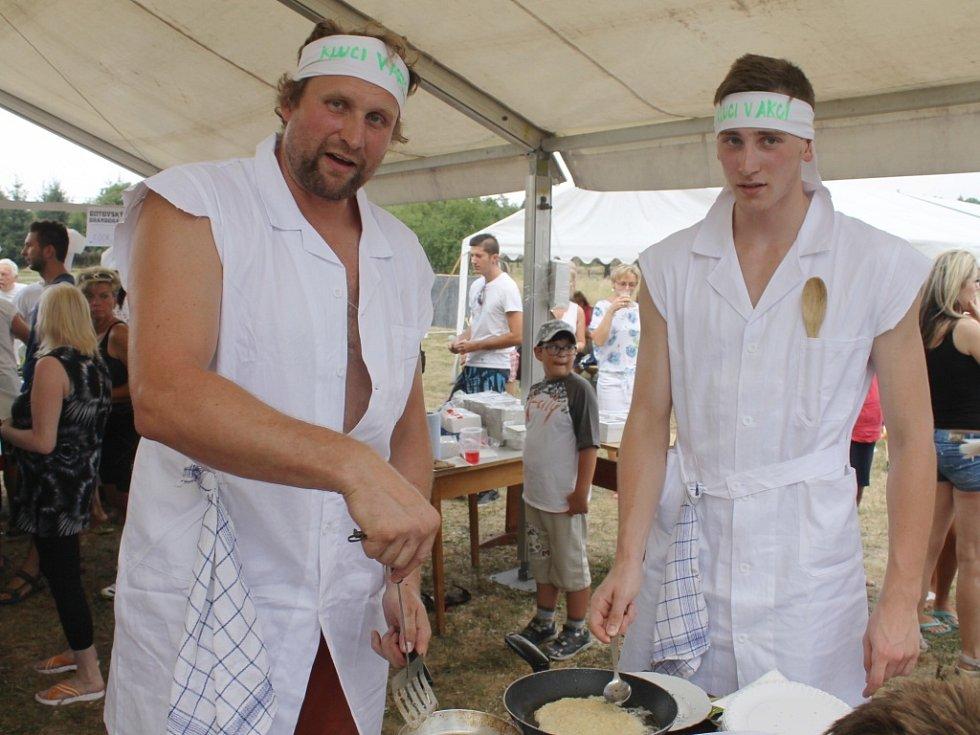 Z akce Butovský bramborák.