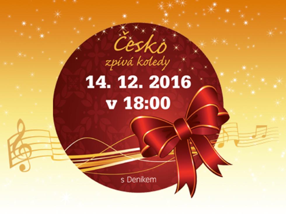 Česko zpívá koledy 2016.