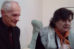 Ellen Jilemnická a profesor Petr Wittlich.