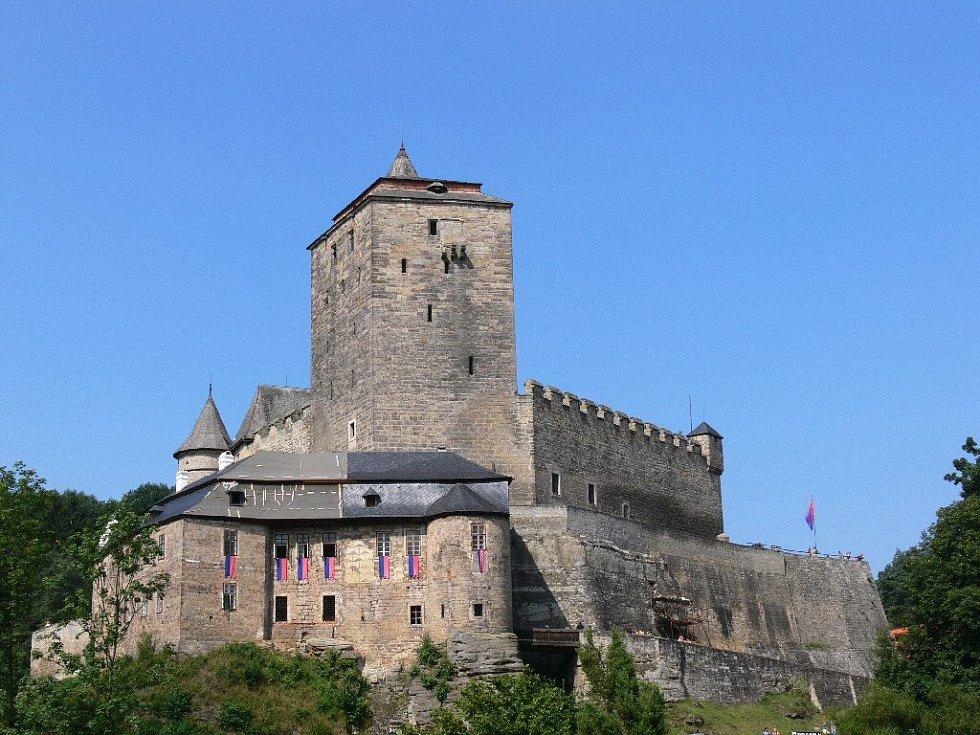 Gotický hrad Kost.