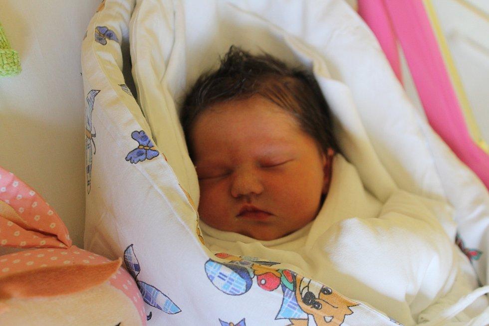 Lora Plechatá se narodila 27. května s mírou 47 cm a váhou 2,94 kg. Radují se Darina a Jiří Plechatí. Doma v Úlibicích se na sestřičku těší tříletý Oliver.