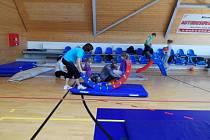 Cvičení s novopackým Klubem sportu pro všechny.